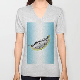Water Your Melon Unisex V-Neck