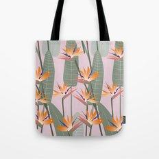 Bird of Paradise - pink Tote Bag