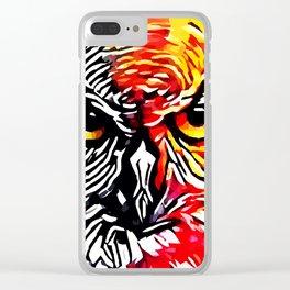 OWL SOUL Clear iPhone Case