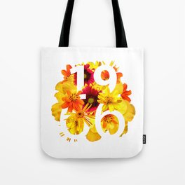 Flower 1966 Tote Bag