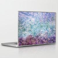 fireflies Laptop & iPad Skins featuring Fireflies by Nancy Smith