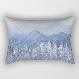 Mountain Lupine  Rectangular Pillow