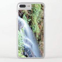 WITCHES FALLS Clear iPhone Case