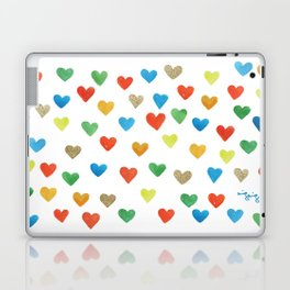 some more hearts Laptop & iPad Skin