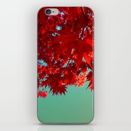Fire Maple iPhone Skin