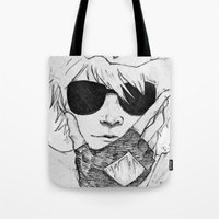 homestuck Tote Bags featuring Dave Strider // Homestuck by BucketsofBroke