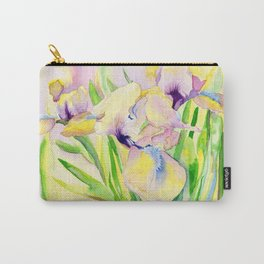 Miniature Gingerbread Iris Carry-All Pouch