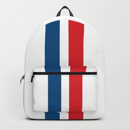 McQueen – Red and Blue Stripes Backpack