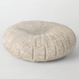Len Sack Fabric Texture Floor Pillow