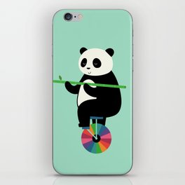 Learn To Balance Your Life iPhone Skin
