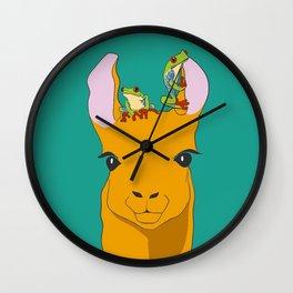 Froglama Wall Clock