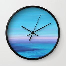 Jeweled Sunset Wall Clock