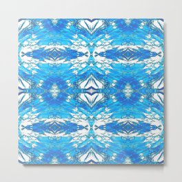 253 - Abstract Glass Pattern Metal Print