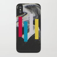 glitch iPhone & iPod Cases featuring Glitch by Mrs Araneae
