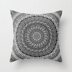 Me and my Mandala Throw Pillow