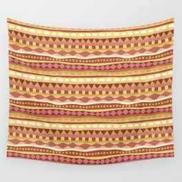 Stripey-Canyon Colors Wall Tapestry