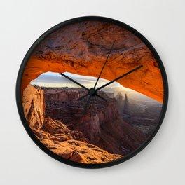 Desktop Wallpapers USA Jeff Wallace, Mesa Arch, an Wall Clock