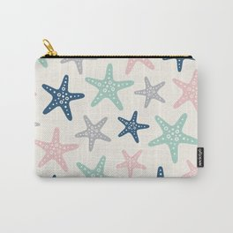 Colorful Starfish Pattern 239 Carry-All Pouch
