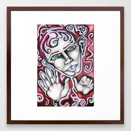 thumbs up Framed Art Print