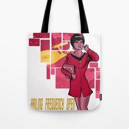 Uhura Tote Bag
