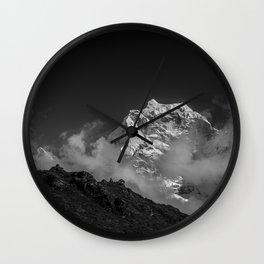 Himalaya mountain Wall Clock