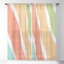 swirls Sheer Curtain