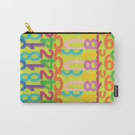 Numeralia Carry-All Pouch
