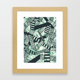 Crosstown Traffic Framed Art Print