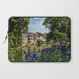 At the Canal de la Sarre Laptop Sleeve