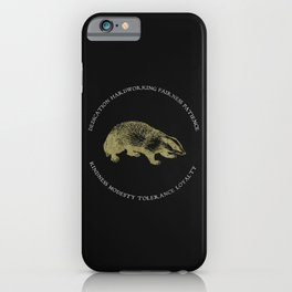 House of the Loyal - Black iPhone Case