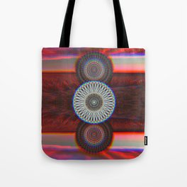 Three Mandalas Tote Bag