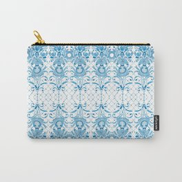 Azulejos Ladies - Handpainted Watercolor Carry-All Pouch