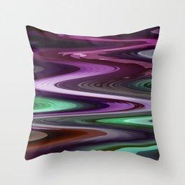 Nixie water Throw Pillow