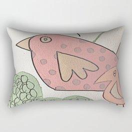 seeking birds Rectangular Pillow