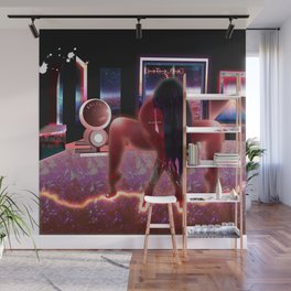 Empower Your Frequency - Femme Inspiration Woman Powa Drawing Wall Mural