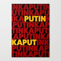 propaganda Canvas Prints featuring Propaganda by Bakus