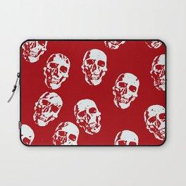 Hot Skulls, red white Laptop Sleeve