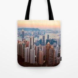 city hights Tote Bag