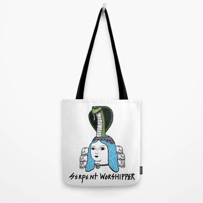 Serpent Woman Tote Bag