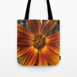 Sunburst Sunflower Tote Bag