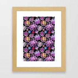 Painted Floral II Framed Art Print