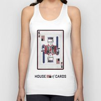 house of cards Tank Tops featuring House of cards Playing card  by Lewys Williams