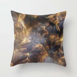 Glassy Refraction 1 Throw Pillow