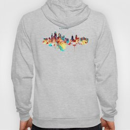 Kansas City Skyline Silhouette Hoody