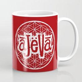 Ajeva Logo Red Coffee Mug
