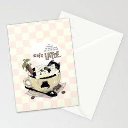 Cafe Latte Stationery Cards