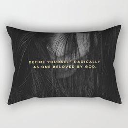 RADICALLY LOVED Rectangular Pillow