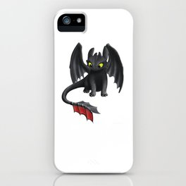Toothless Dragon iPhone Case