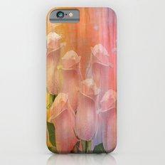 Delicate Painterly Rose Bouquet iPhone 6 Slim Case