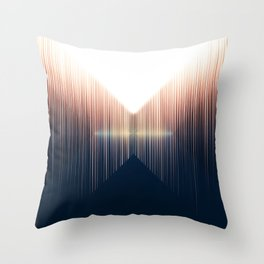 Opposing Dimensions Throw Pillow